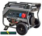 Petrol Generator Greenpower 4-stroke GPS 7000, 7kVA 5.6kW 230/400V manual and automatic start