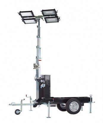 Portable Lighting Generator Towers