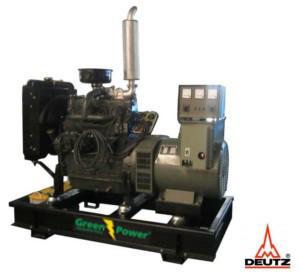 greenpower deutz diesel power generator 30kva 24kw open frame manual rh greenpower lk Deutz Generator Parts Deutz Generator Parts