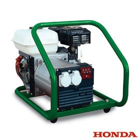 Honda 1 phase power from 1.2kW to 4.5kW