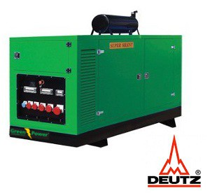 greenpower deutz diesel power generator 250kva 200kw soundproof rh greenpower lk Cummins 2.3 Diesel Engine Deutz Generator Craigslist