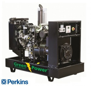 GREENPOWER Kohler Diesel Power generator 30kVA 24kW Open