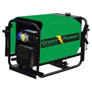 GREENPOWER Kohler Diesel Power generator 5kVA 4kW Soundproof canopy Manual  starting