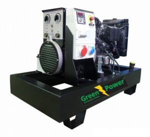 Lombardini Motor Welding set with 15kVA 12KW Three Phase Electric