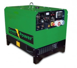 Green Power Motor Welding Sets - 1500 r/m